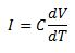 Capacitor Current Equation